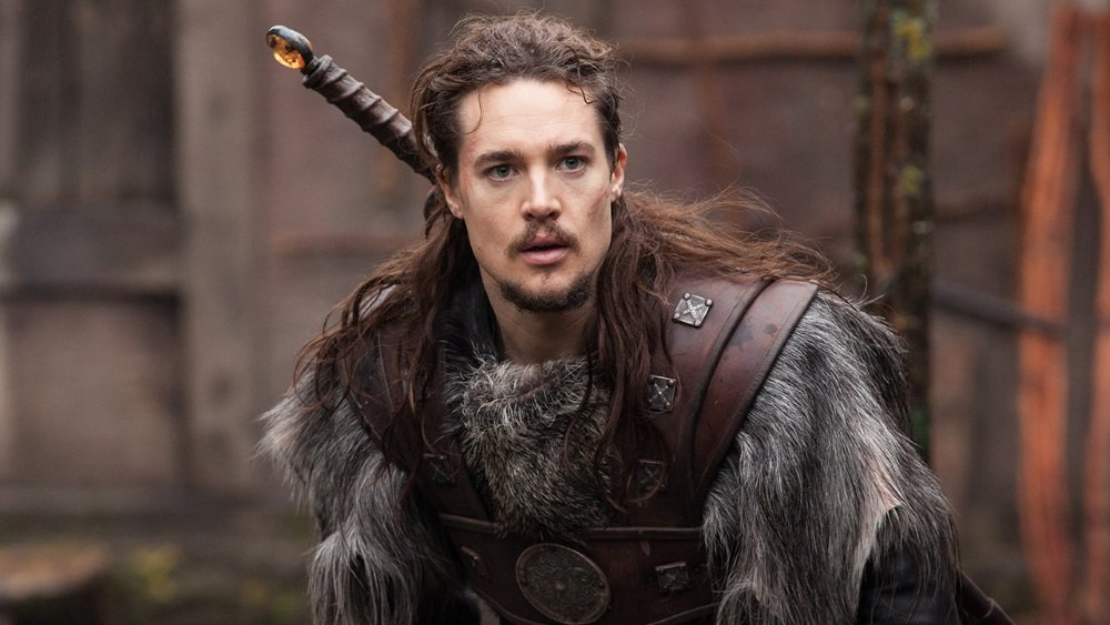 Alexander Dreymon in the BBC series 'The Last Kingdom'