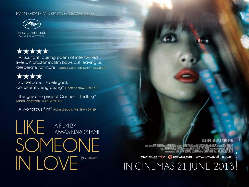'Like Someone in Love' is the final film from Iranian filmmaker Abbas Kiarostami