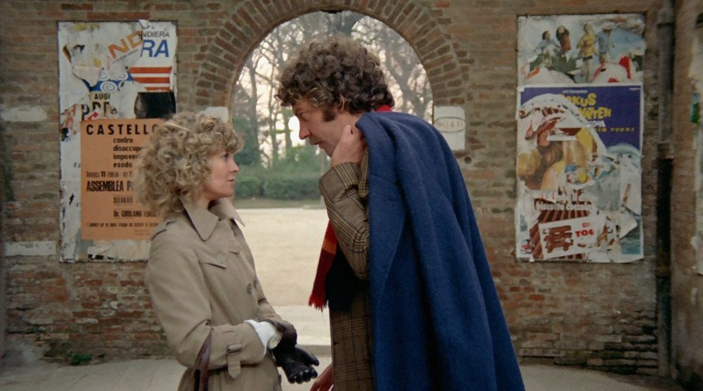 Donald Sutherland and Julie Christie in Nicolas Roeg's enigmatic mosaic of a thriller 'Don't Look Now.'