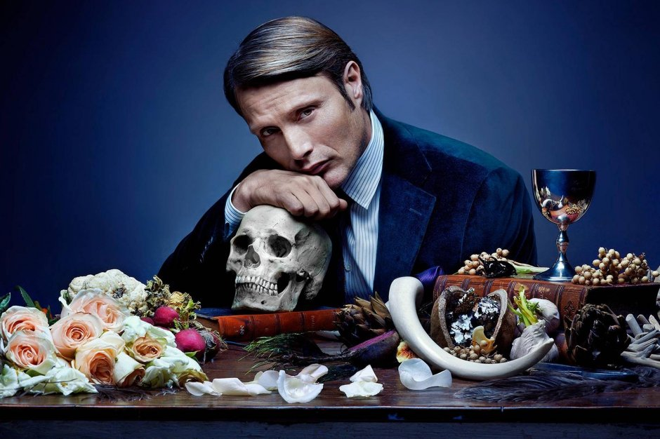 Mads Mikkelsen as Dr. Hannibal Lector. Photo credit: NBC