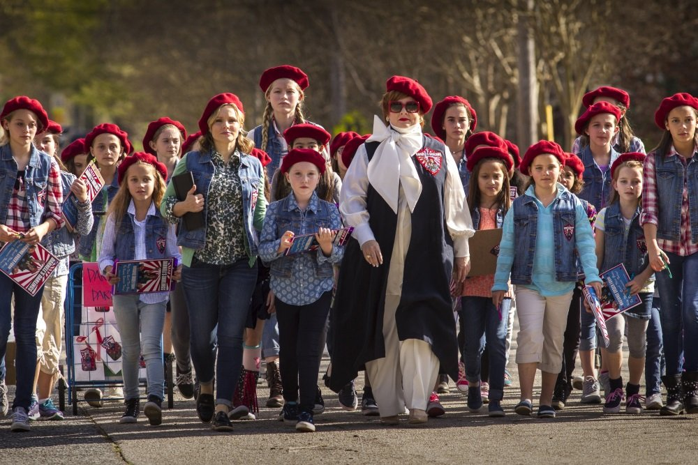 Melissa McCarthy and her troop in 'The Boss'
