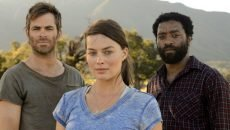 Chris Pine, Margot Robie, and Chiwetel Ejiofor in 'Z for Zachariah.'