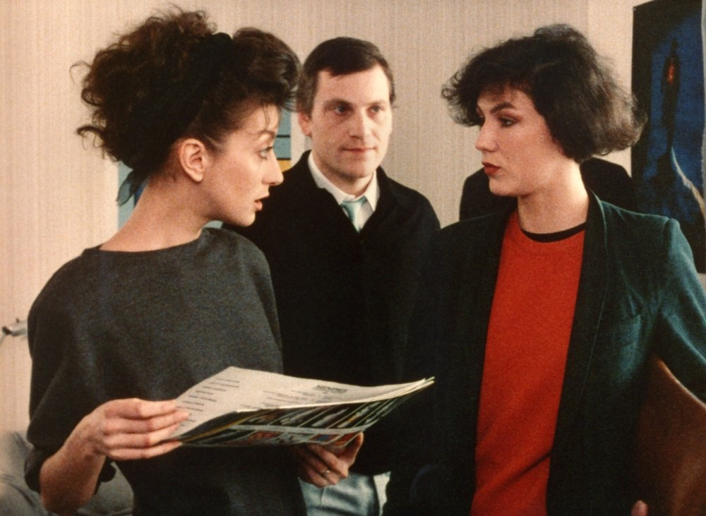 Pascale Ogier and Tcheky Karyo in Eric Rohmer's 'Full Men in Paris'