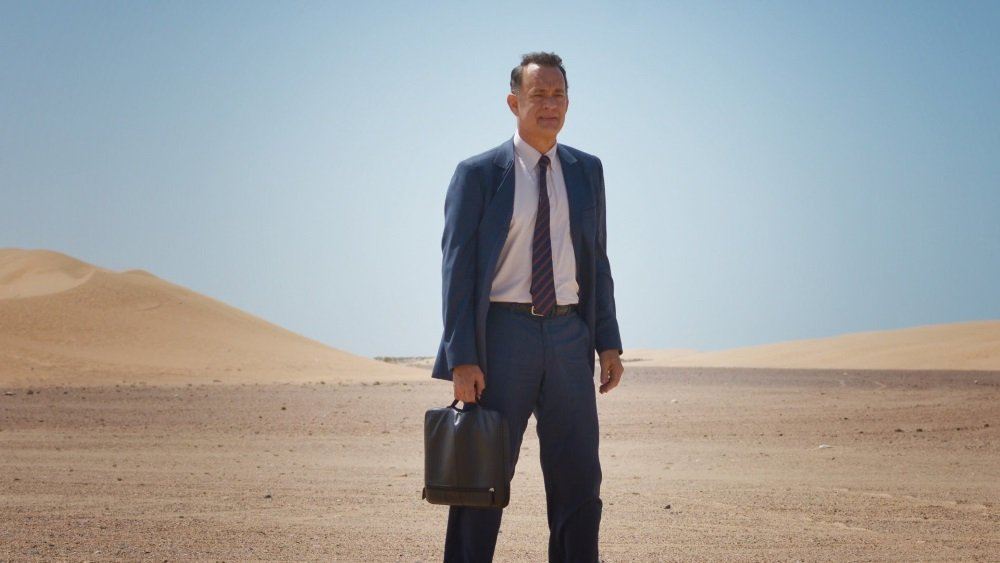 Tom Hanks in 'A Hologram for the King,' directed by Tom Tykwer