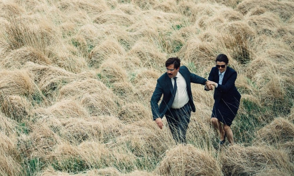 Colin Farrell and Rachel Weisz star in 'The Lobster' from Yorgos Lanthimos.