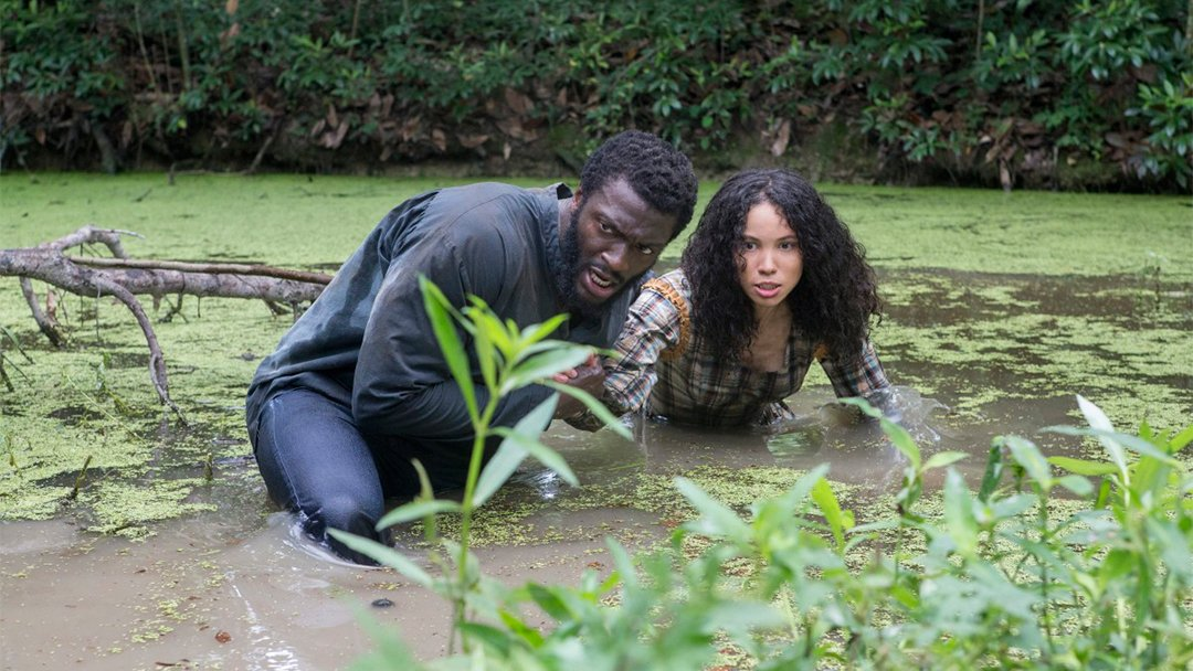 Aldis Hodge and Jurnee Smollett-Bell star in the WGN series 'Underground.'