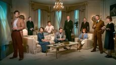The cast of victims in the BBC's 2015 'And Then There Were None'