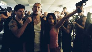 Cyril Raffaelli and Dany Verissimo in 'District B13,' aka 'Banlieue 13'
