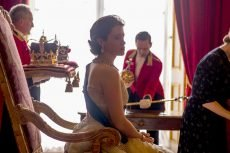 Claire Foy in the Netflix series 'The Crown.'