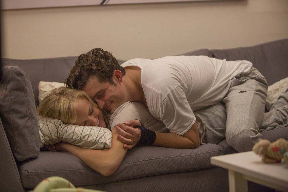 Malin Akerman and Orlando Bloom in the Netflix original series 'Easy' from creator Joe Swanberg