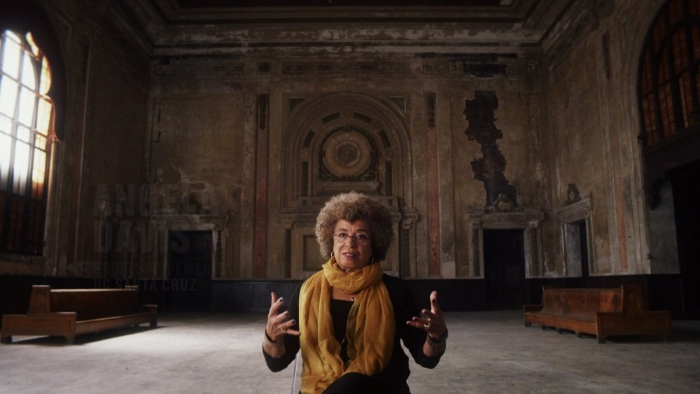 Angela Davis in '13th' from director Ava Duverny.