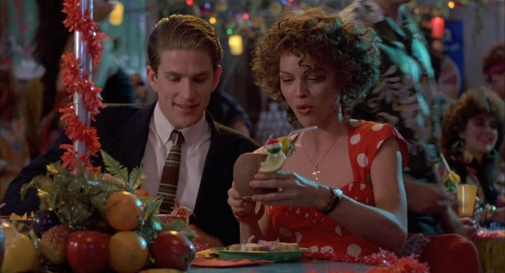 Matthew Modine and Michelle Pfeiffer in Jonathan Demme's 'Married to the Mob'