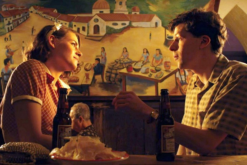 Kristen Stewart and Jesse Eisenberg in Woody Allen's 'Café Society'