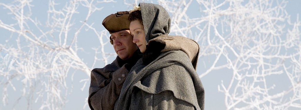 Paul Giamatti and Laurau Linney in 'John Adams.' Photo credit: HBO