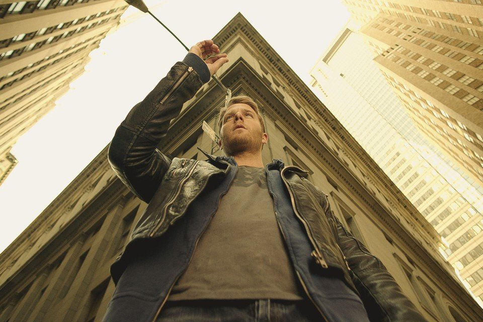 Jake McDorman stars in the TV series 'Limitless,' a spin-off from the film starring Bradley Cooper