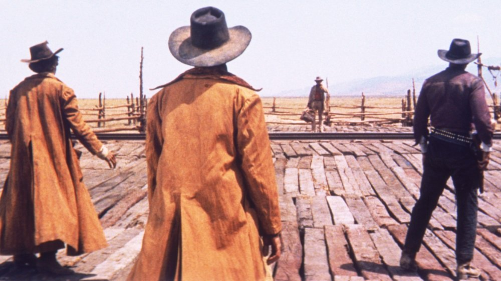Charles Bronson in Sergio Leone's 'Once Upon a Time in the West'