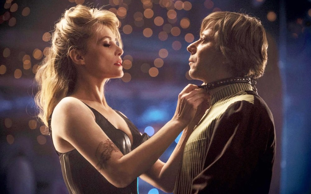 Emmanuelle Seigner and Mathieu Amalric star in 'Venus in Fur,' directed by Roman Polanski