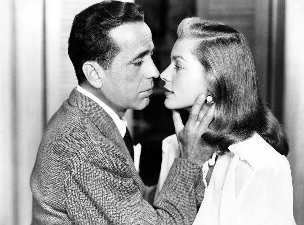 Humphrey Bogart and Lauren Bacall star in the film noir 'Dark Passage' directed by Delmer Daves