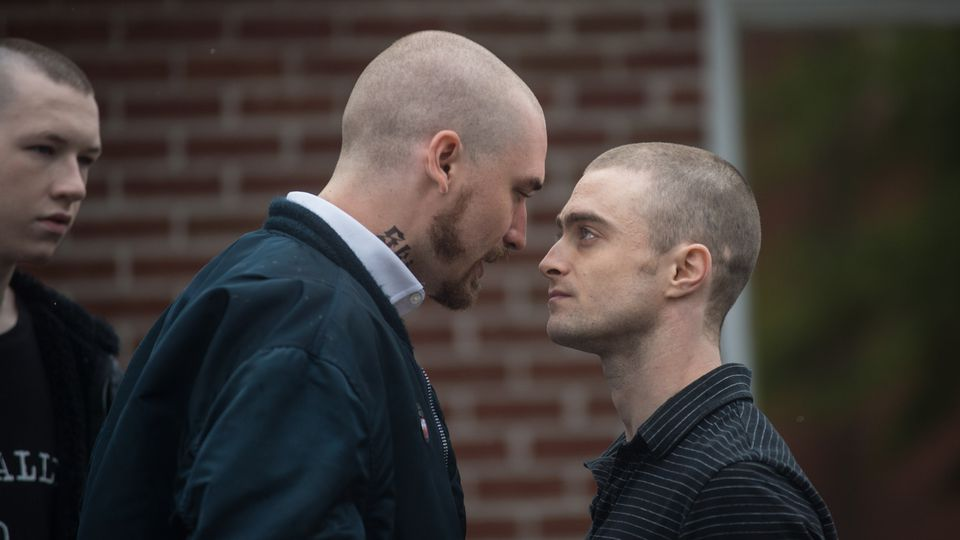 Daniel Radcliffe stars as an FBI agent undercover in the white supremacist underground in Imperium