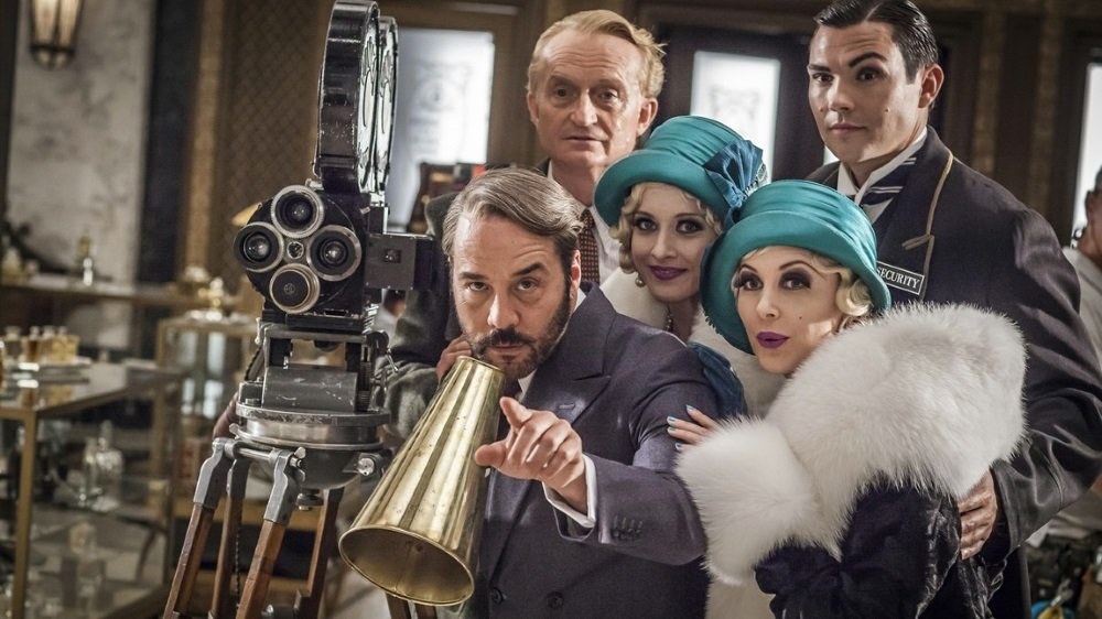 Jeremy Piven is Mr Selfridge in the BBC series that shows on the PBS showcase Masterpiece in the U.S.