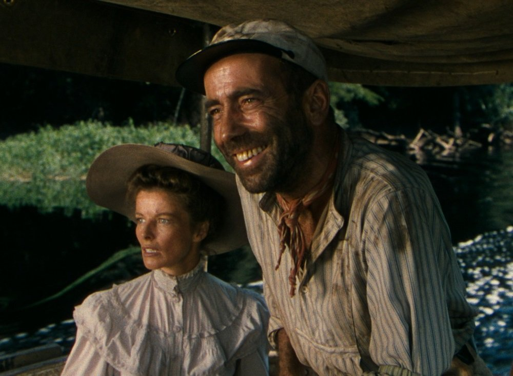 Katharine Hepburn and Humphrey Bogart in John Huston's 'The African Queen'