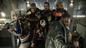 Will Smith, Margot Robbie, Joel Kinnaman, and Jai Courtney star in the DC comics movie