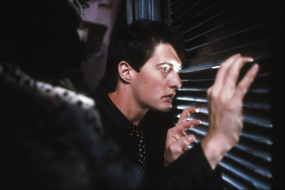 "Kyle MacLachlan in David Lynch's ""Blue Velvet"""