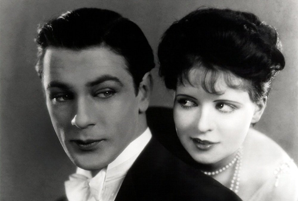 Clara Bow and Gary Cooper star in the 1927 silent film from Frank Lloyd