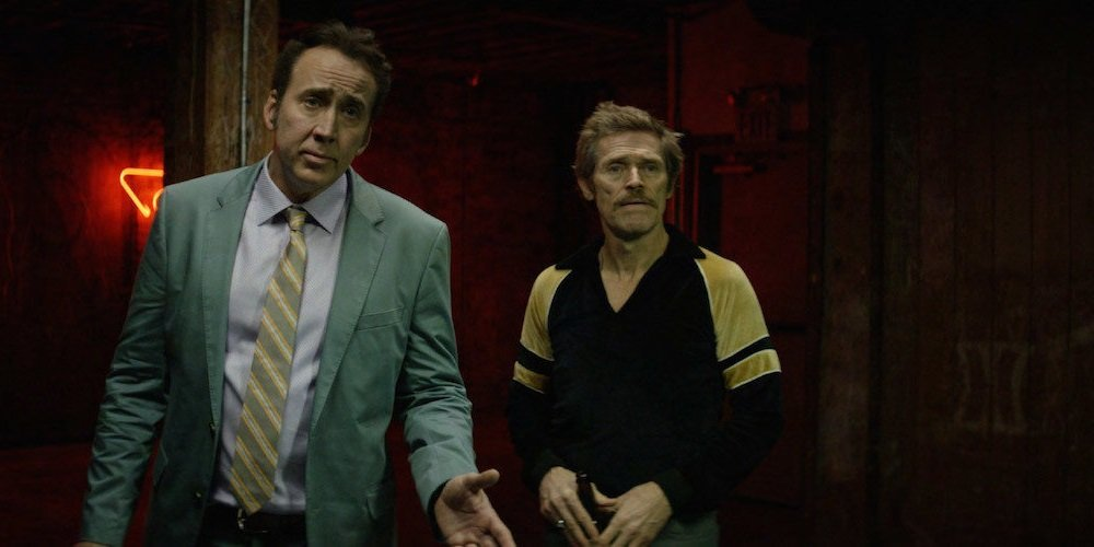 Nicolas Cage and Willem Dafoe star in the squalid pulp crime drama directed by Paul Schrader