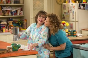 """Rita Moreno and Justina Machado in the revival of """"One Day at a Time."""" on Netflix"""