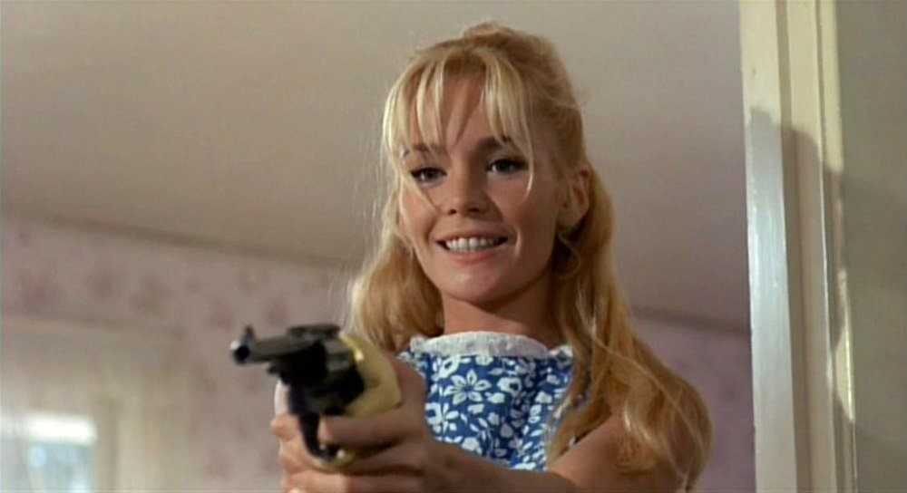 Tuesday Weld is a wild child with a dark side in 'Pretty Poison' with Anthony Perkins