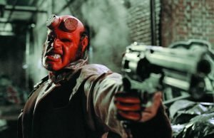 "Ron Perlman is ""Hellboy"" in Guillermo del Toro's adaptation of the Mike Mignola graphic novel"