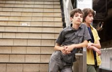 "Theo Taplitz and Michael Barbieri in Ira Sachs's ""Little Men"""