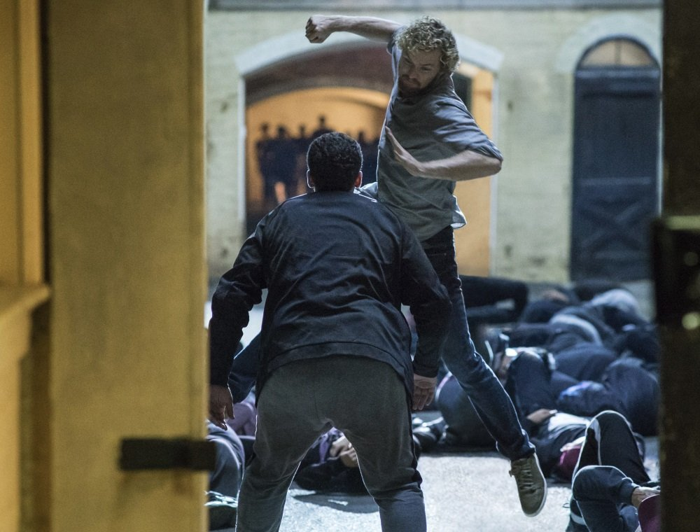 Finn Jones is 'Iron Fist' in the Netflix Original Series