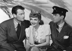 Joel McCrea, Claudette Colbert , and Rudy Vallee in the classic romantic comedy from Preston Sturges
