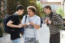 Jonah Hill, Michael Cera, and Christopher Mintz-Plasse star in the raunchy comedy