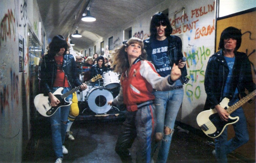 P.J. Soles and The Ramones