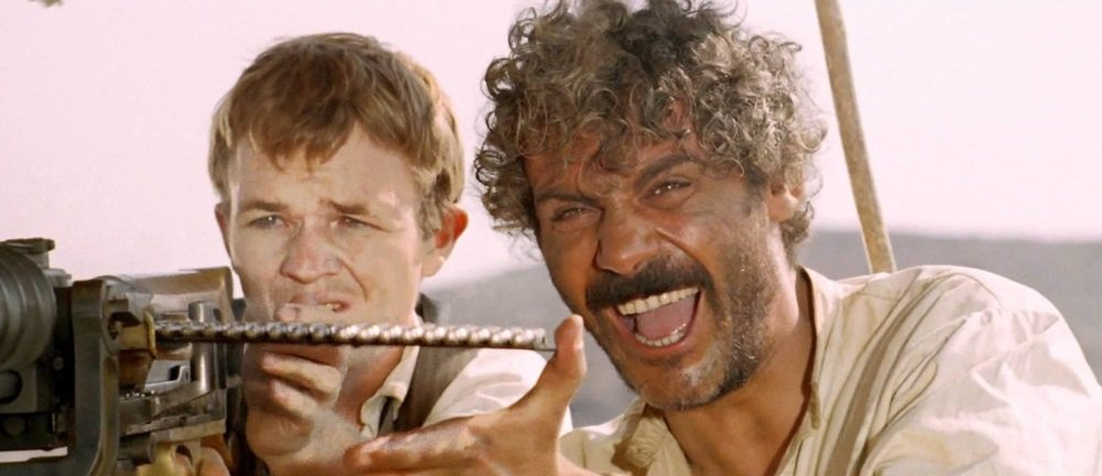 Lou Castel and Gian Maria Volonté in Damiano Damiani's spagheti western