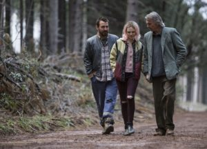 Nicholas Hope, Odessa Young, and Sam Neill in the Australian take on Ibsen's The Wild Duck, directed by Simon Stone