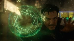 Benedict Cumberbatch is the Master of the Mystic Arts in the Marvel Comics movie