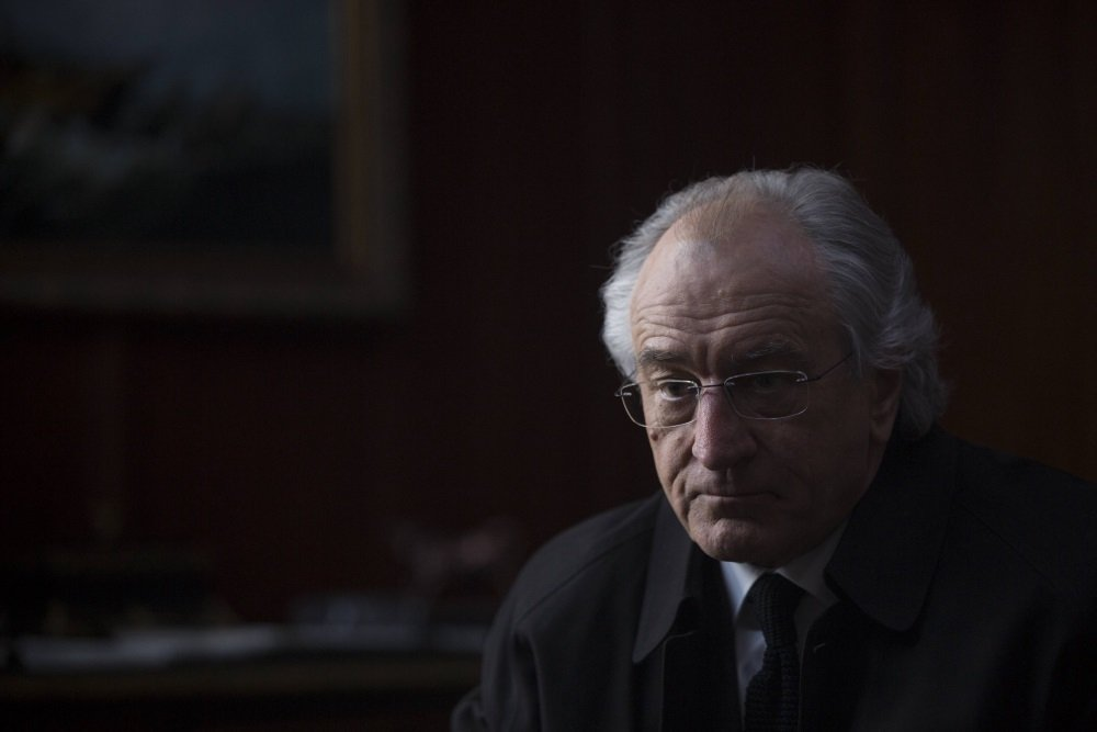 Robert De Niro is Bernie Madoff in the HBO original film by Barry Levinson