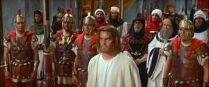 Jeffrey Hunter is Jesus in Nicholas Ray's take on the story of Christ