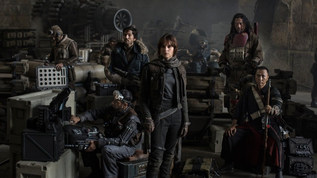 Felicity Jones leads the mission Gareth Edwards' Star Wars stand-alone