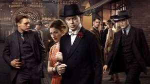 Steve Buscemi stars in the HBO series of Prohibition and organized crime created by Terence Winter