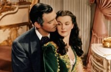 Clark Gable and Vivien Leigh in the film that won 10 Academy Awards