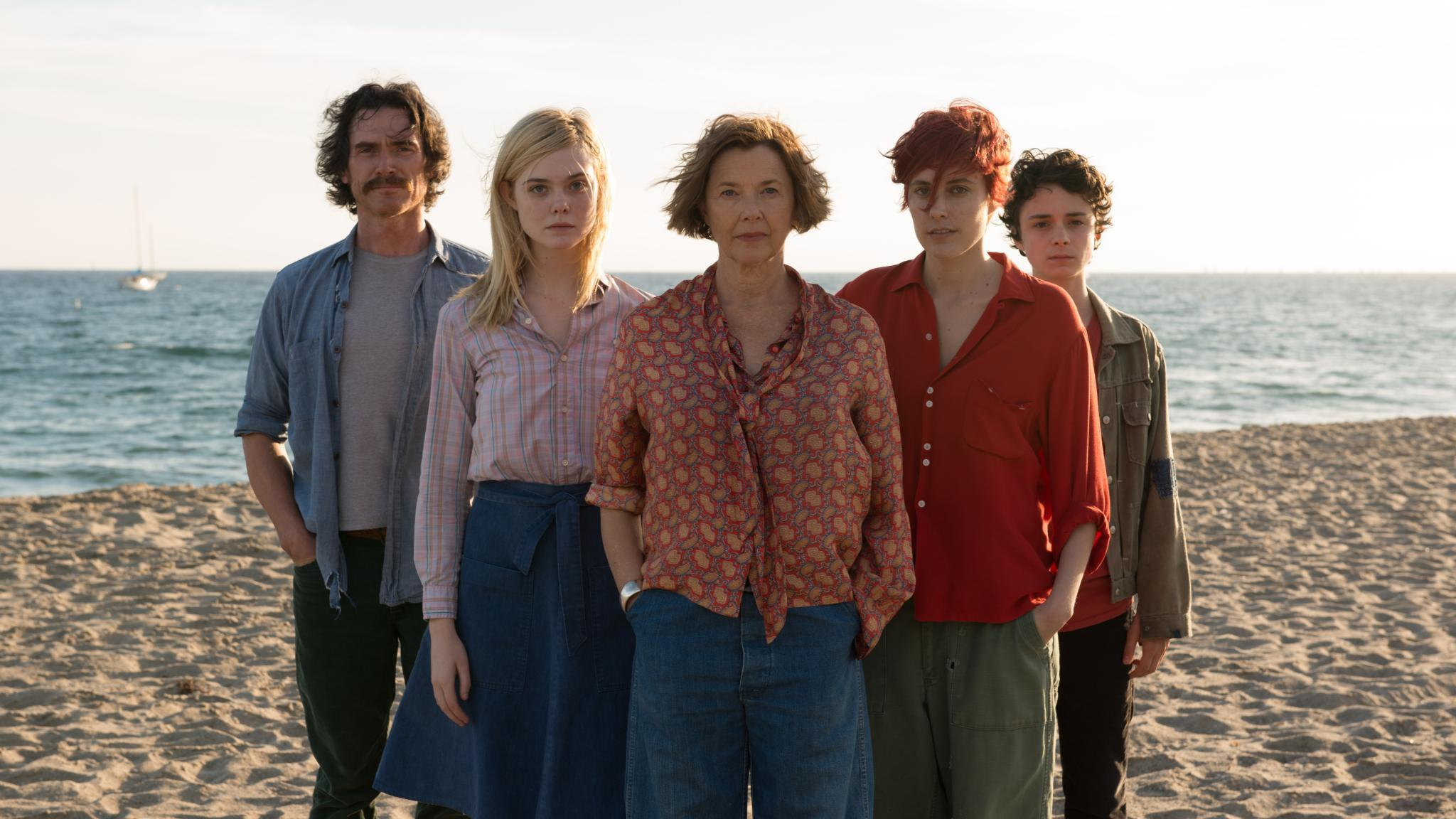 "Annette Bening, Elle Fanning, and Greta Gerwig are ""20th Century Women."""