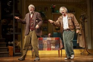 "Nick Kroll and John Mulaney in ""Oh, Hello On Broadway."""