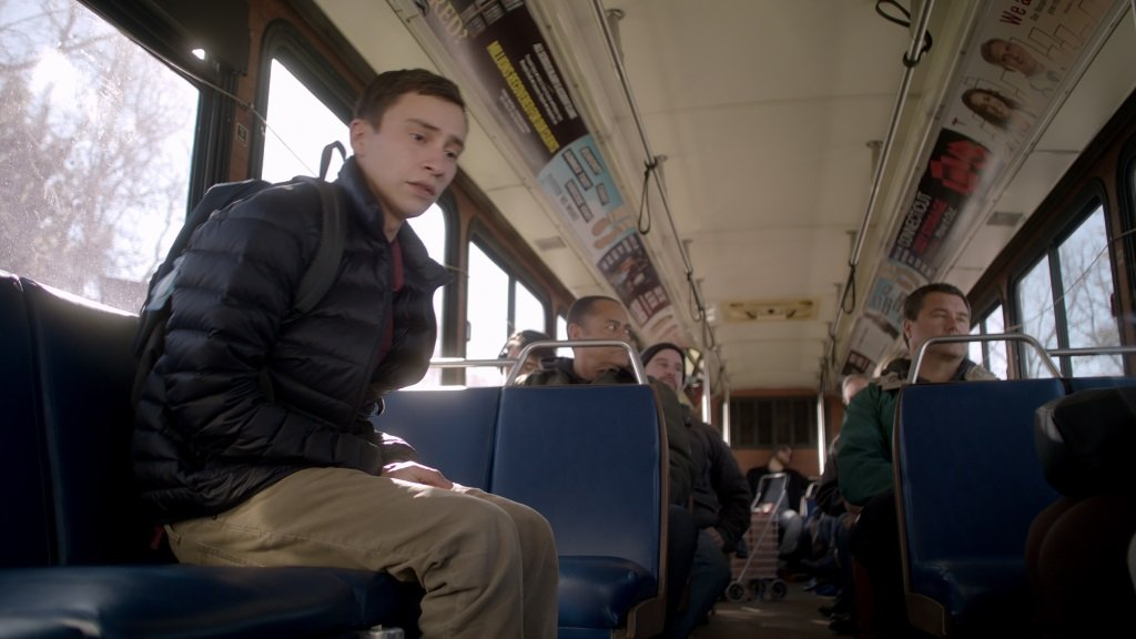 "Keir Gilchrist stars in ""Atypical."" Photo credit: Netflix"