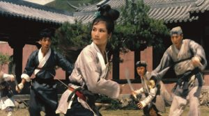 Cheng Pei-Pei and Yueh Hua star in King Hu's classic wuxia pian