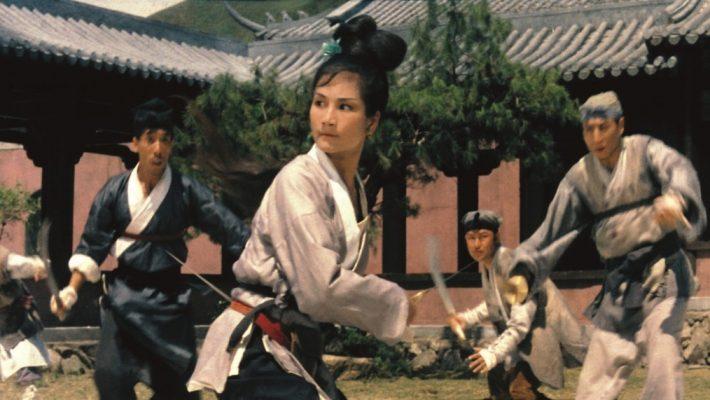 Cheng Pei-Pei and Yueh Hua star in King Hu's classic wuxia pian